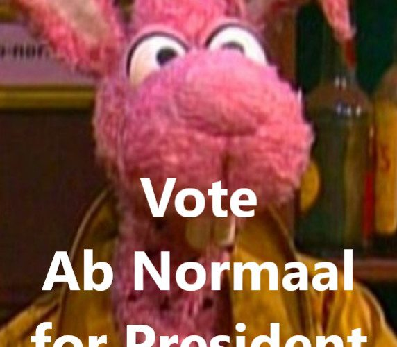 Vote Ab Normaal for President